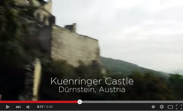 Hike to a Durnstein Castle with Adventures by Disney!