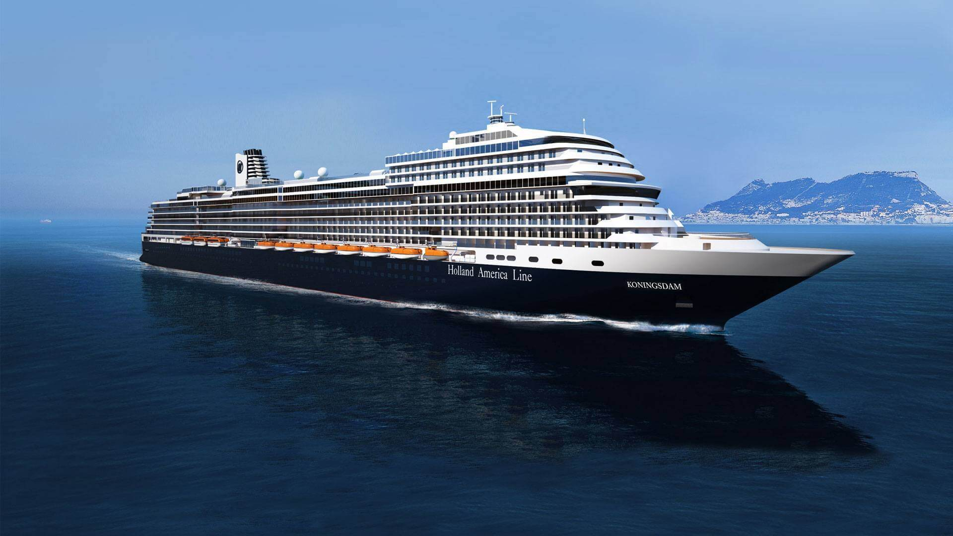 The Amazing new Holland America Koningsdam :VIDEO