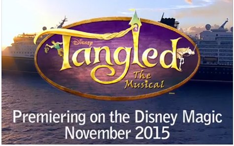Behind the Scenes: Backstage at Rehearsals for 'Tangled: The Musical'