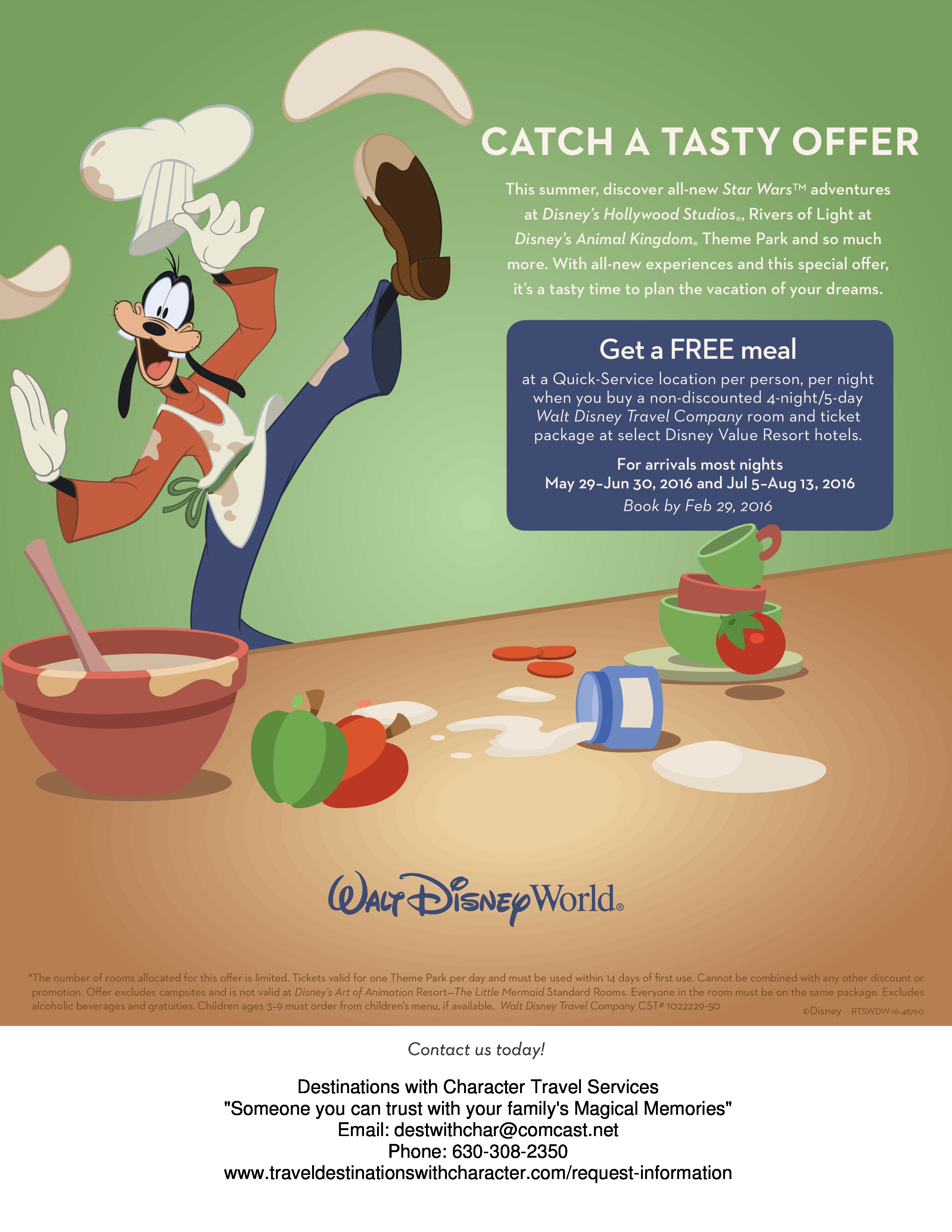 4 Things You Should Know About Walt Disney World's New Free Dining Deal