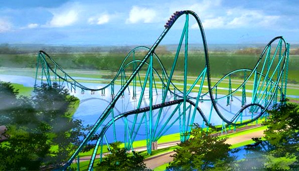 First look: SeaWorld shows off Mako roller coaster's car