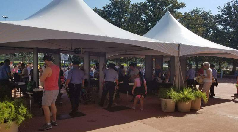 Additional Metal Detectors Installed at Epcot Entrance