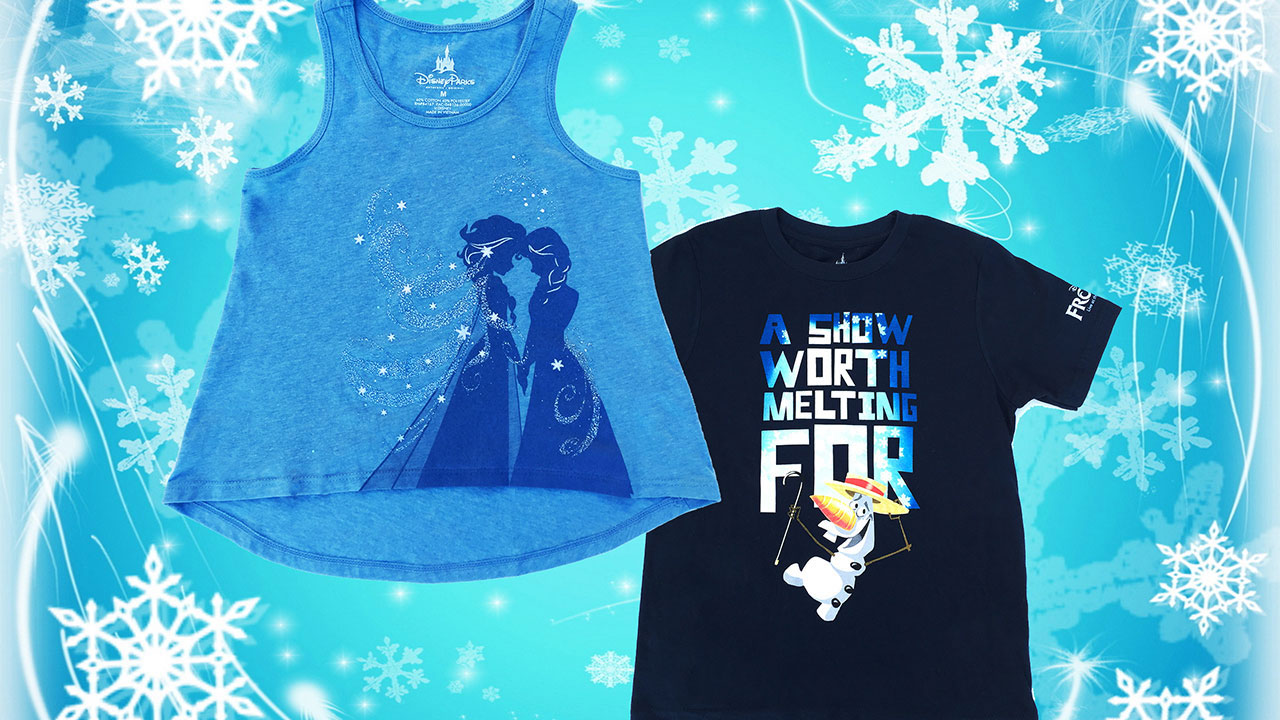 First Look at 'Frozen – Live at the Hyperion' Merchandise from the Disney Parks Blog