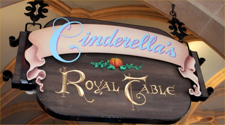Cinderella's Royal Table Closing for 3 Day Refurbishment in Early 2018