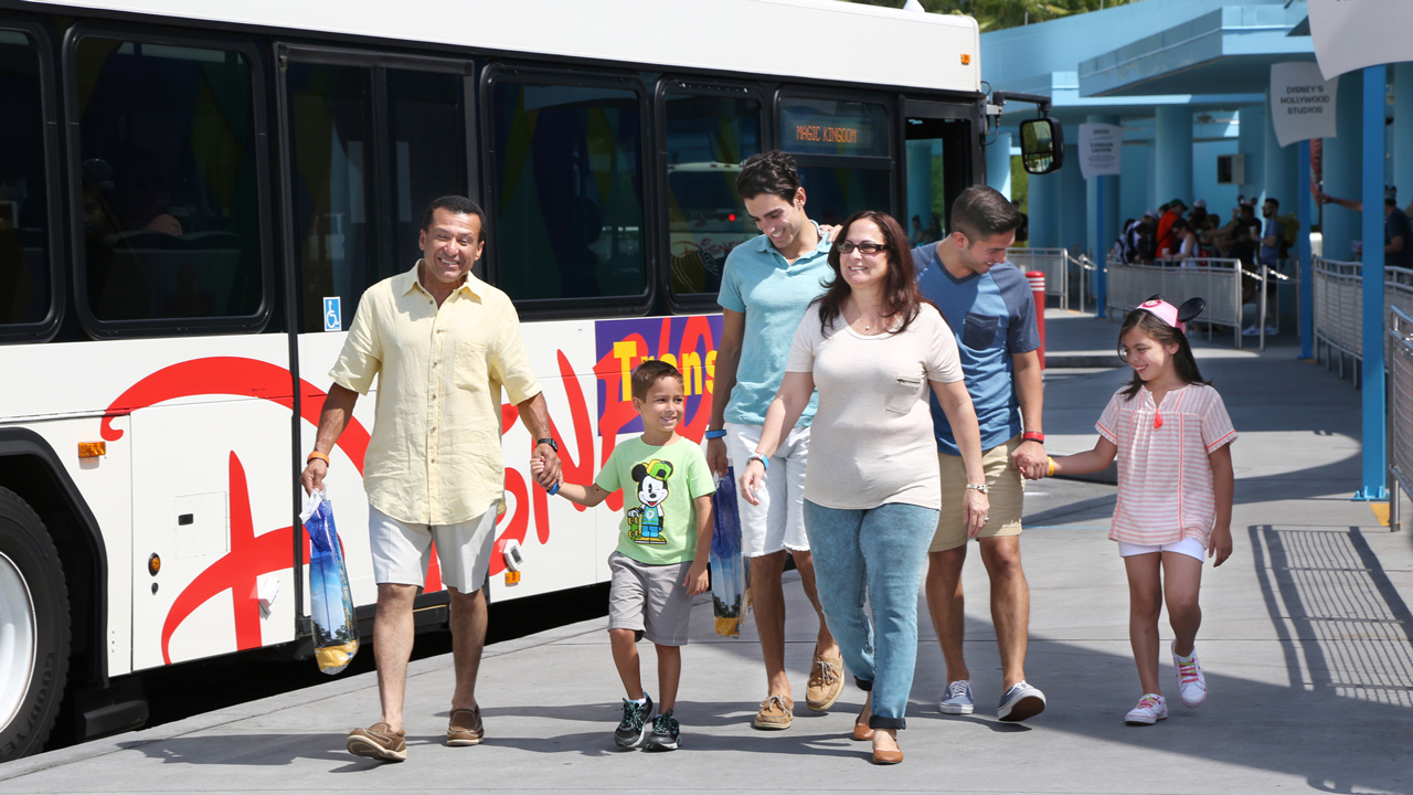 Express Bus Transportation Coming to Walt Disney World  Beginning December 7th !