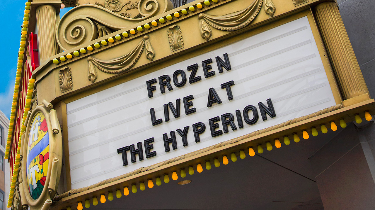 PRE-SHOW PACKAGES NOW AVAILABLE FOR 'FROZEN – LIVE AT THE HYPERION' AT DISNEY CALIFORNIA ADVENTURE PARK