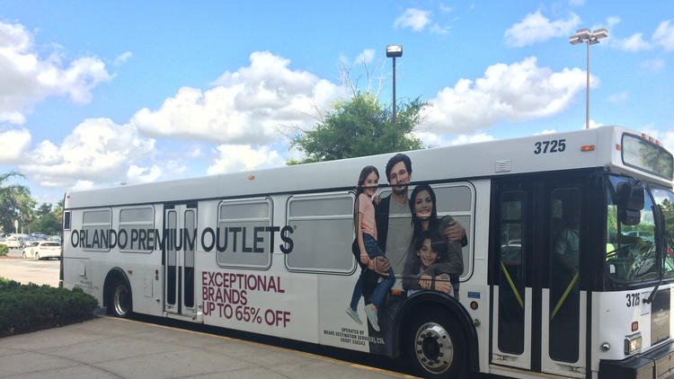 Outlets launch shuttle service to hotels