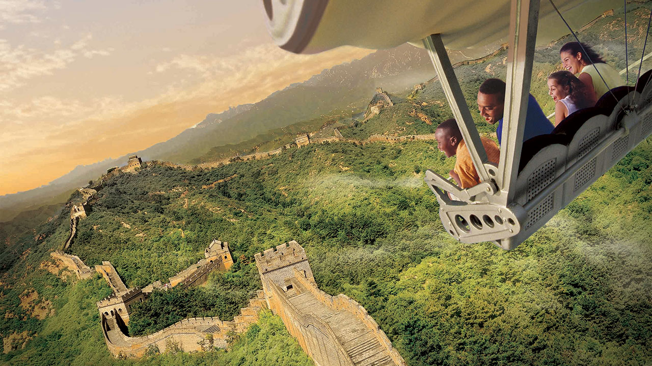 Soarin' Around the World Opens with New Interactive Game