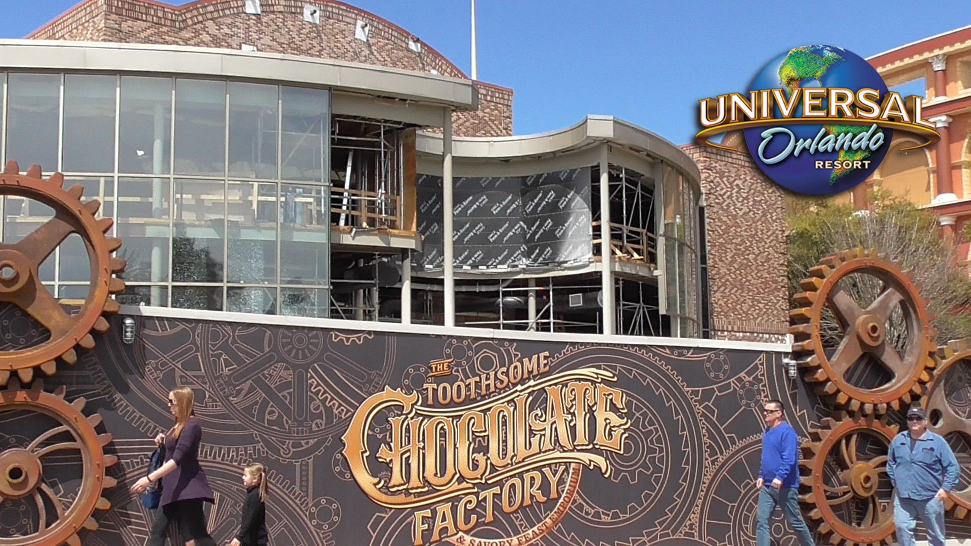 CityWalk Update: New Chocolate Emporium Takes Shape