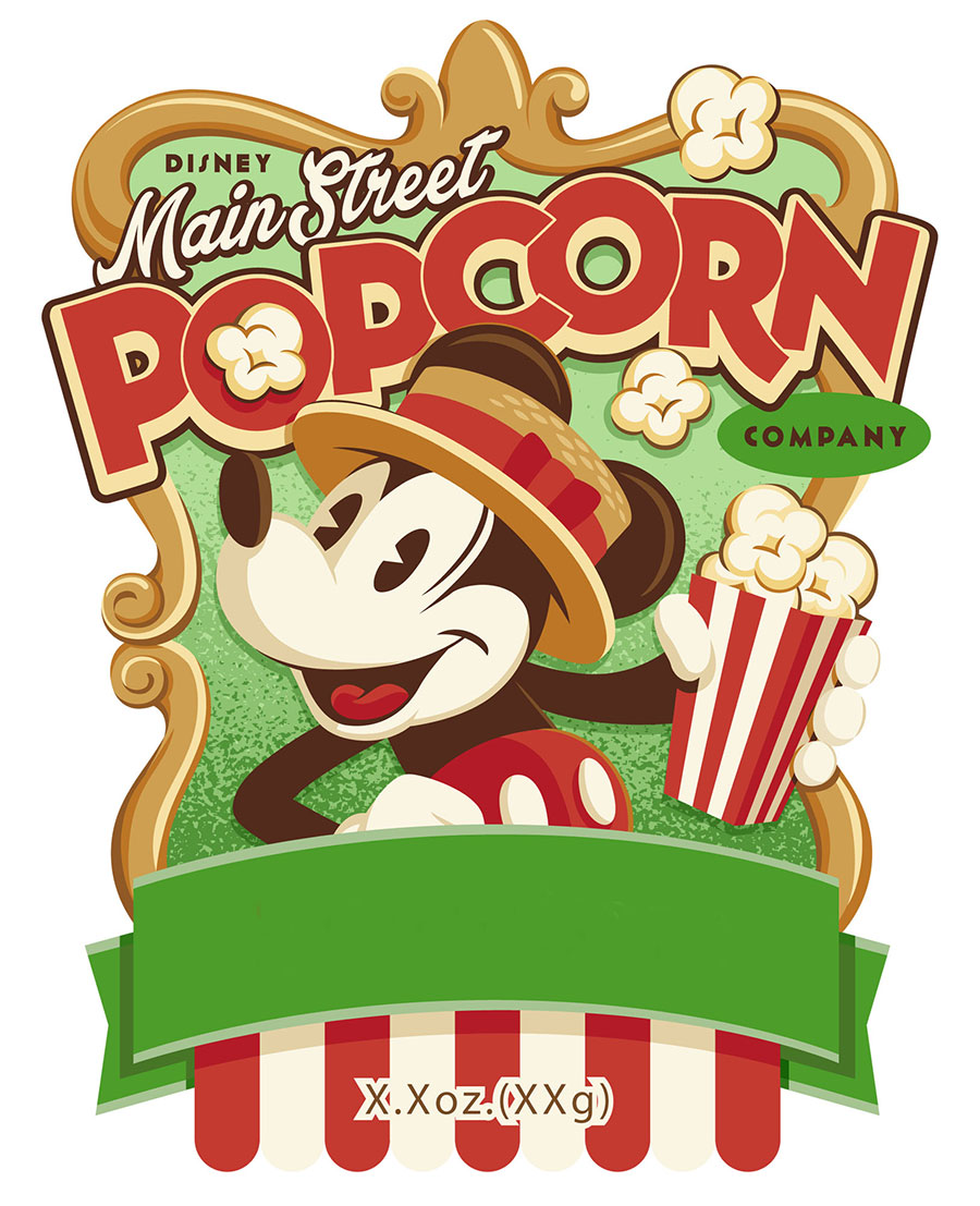 New Flavors Popping Out at the Disney Parks Main Street Popcorn Company!