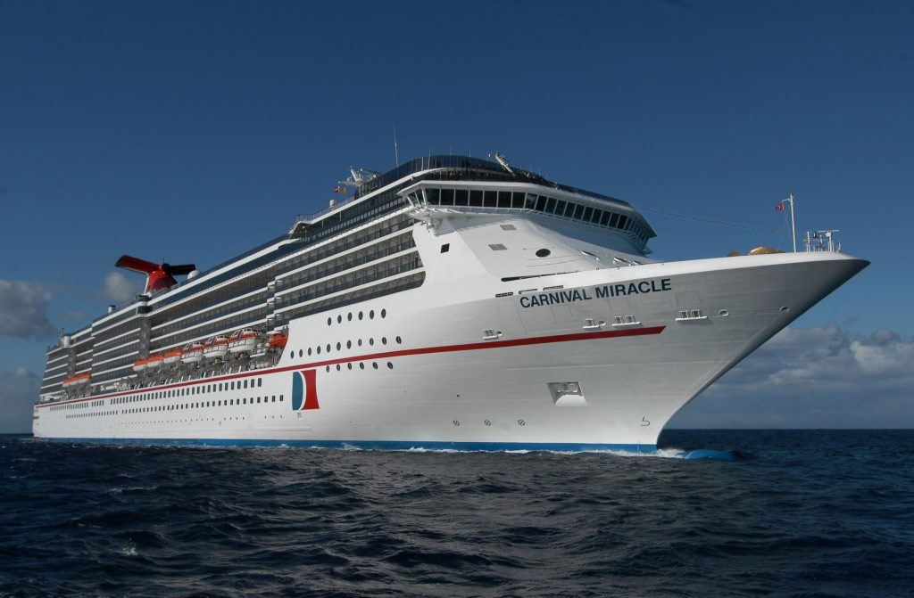 Carnival Miracle to Offer an Alaska Cruise From Long Beach, California
