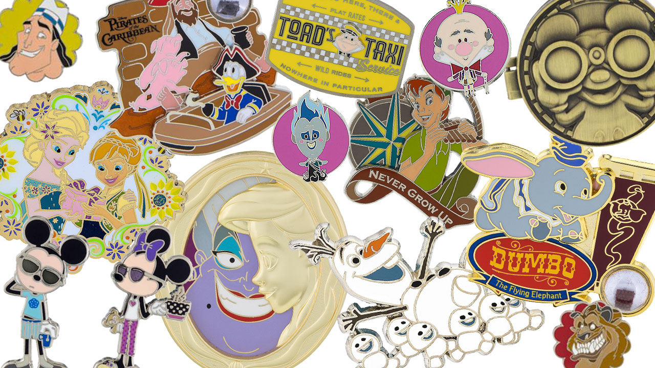 Disney Pin Preview – New Pins Coming to Disney Parks in Late Summer 2016