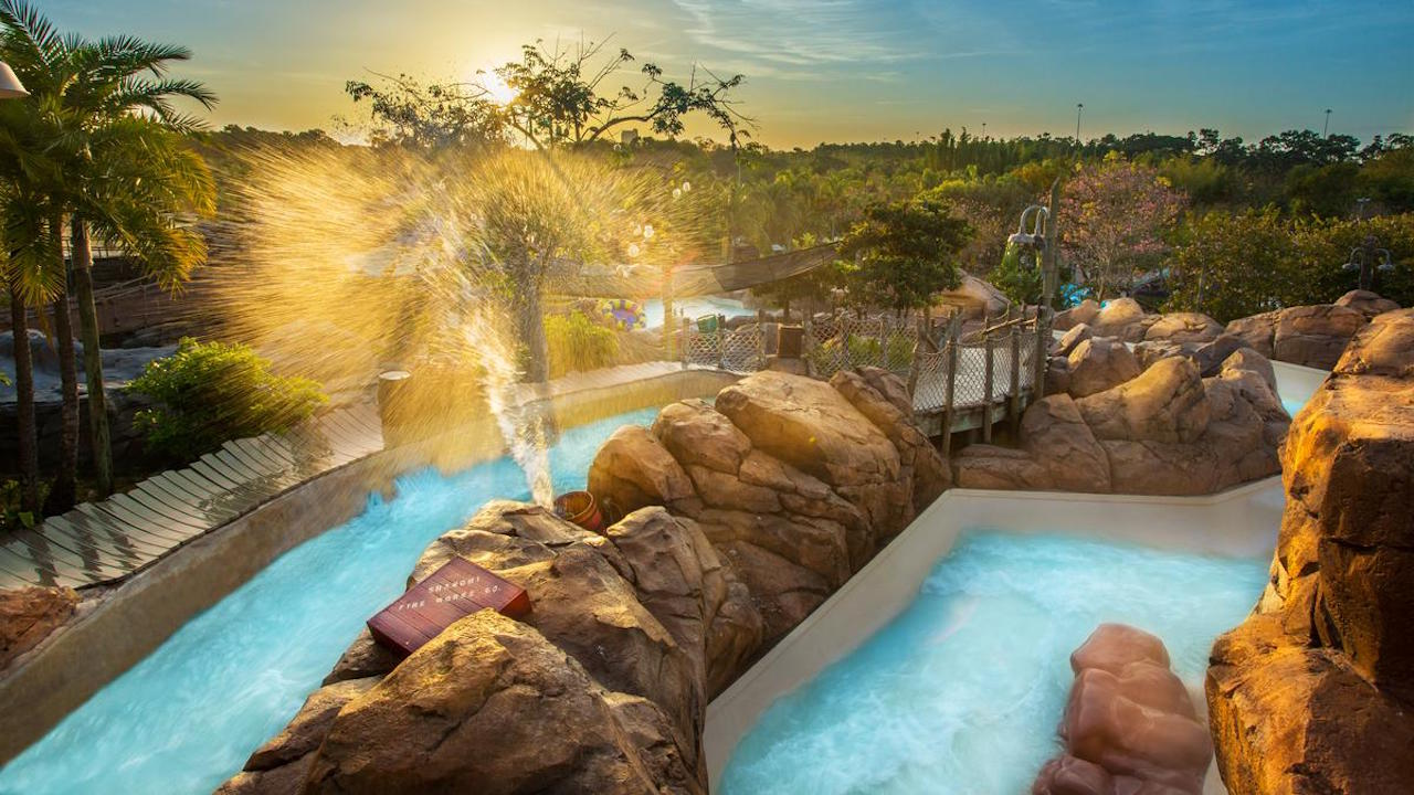 Ready For The 'Falls' At Disney's Typhoon Lagoon Water Park?