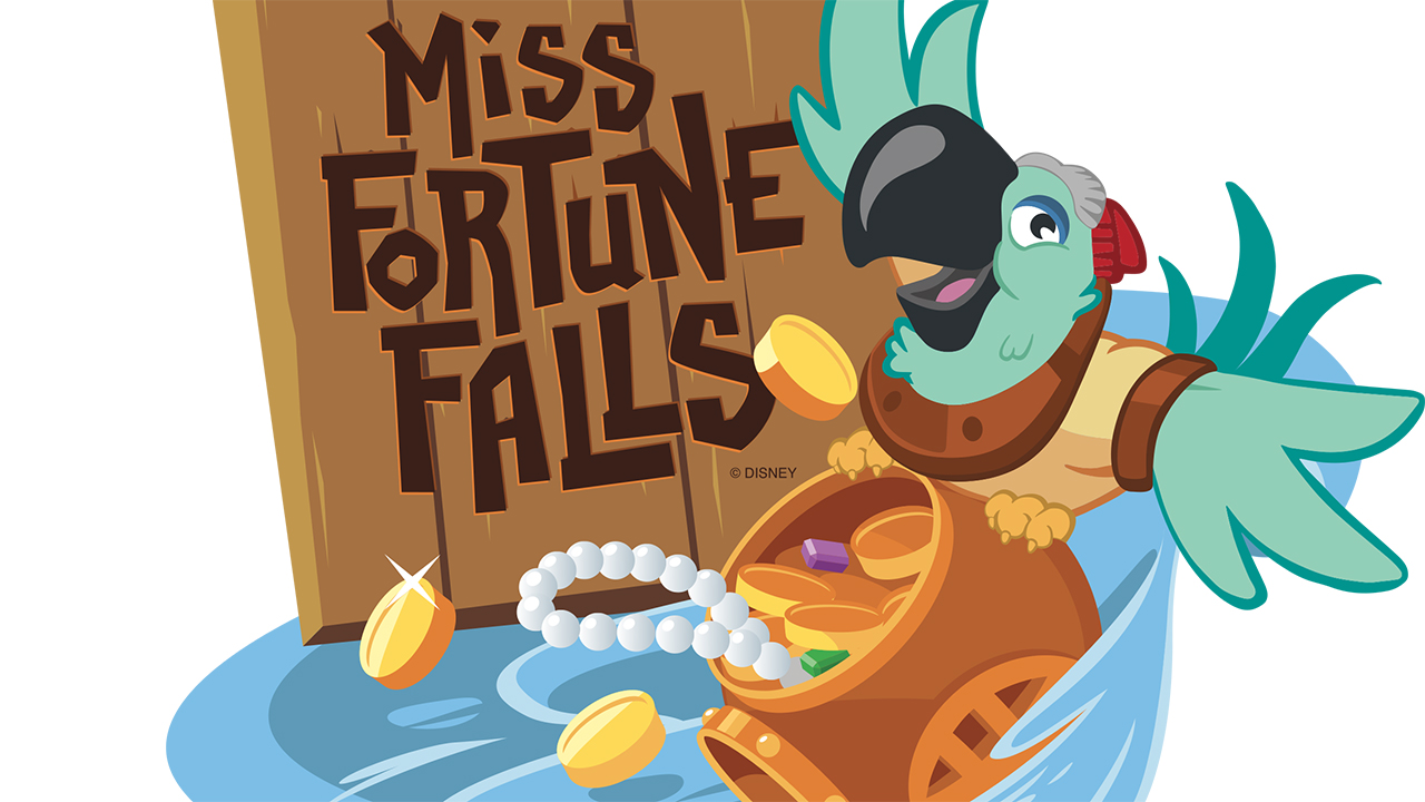 New 'Miss Fortune Falls' Attraction Coming to Disney's Typhoon Lagoon Spring 2017