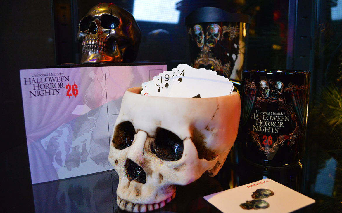 CHANCE TAKES CENTER STAGE IN HALLOWEEN HORROR NIGHTS 26 MERCHANDISE