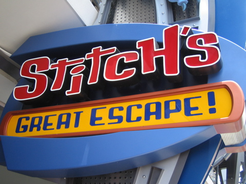 Stitch's Great Escape to Begin Operating Seasonally
