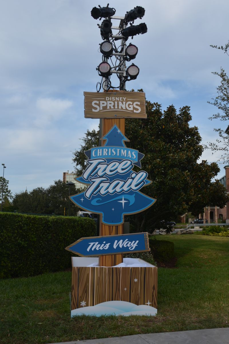 Disney Springs Christmas Tree Trail is Now Open!