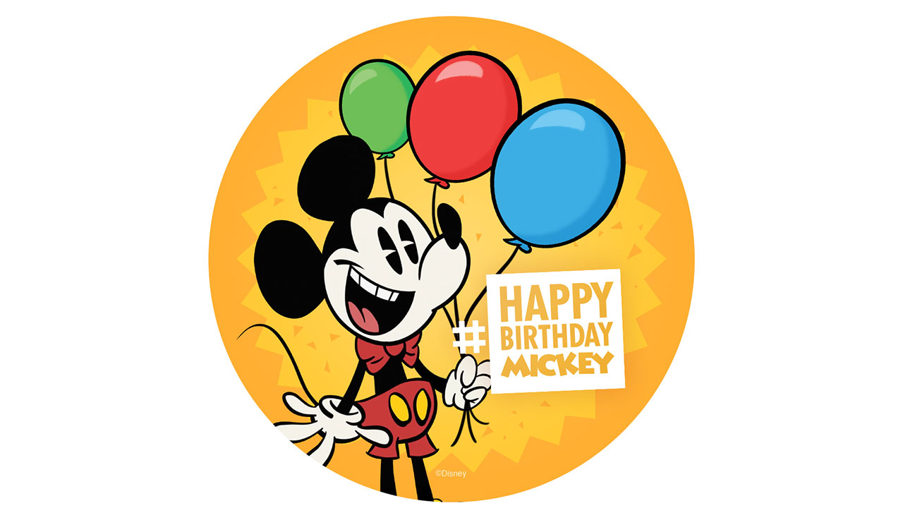 Mickey Mouse's Birthday Celebration Coming to Disney Parks