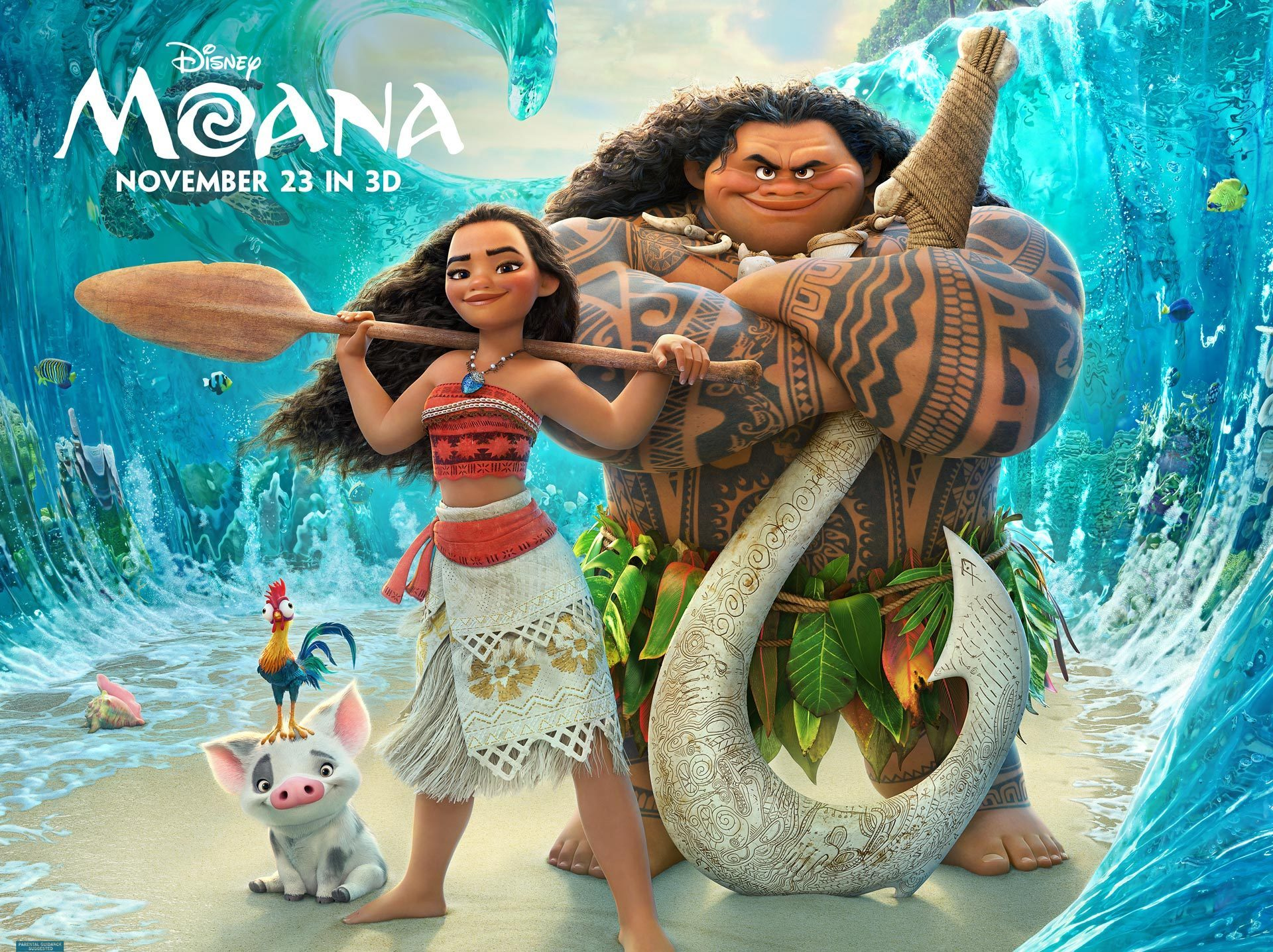 Disney's Hollywood Studios To Begin Showing Sneak Peak of Moana November 5th.