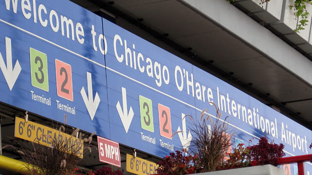Workers at Chicago's O'Hare Airport to Strike Before Thanksgiving