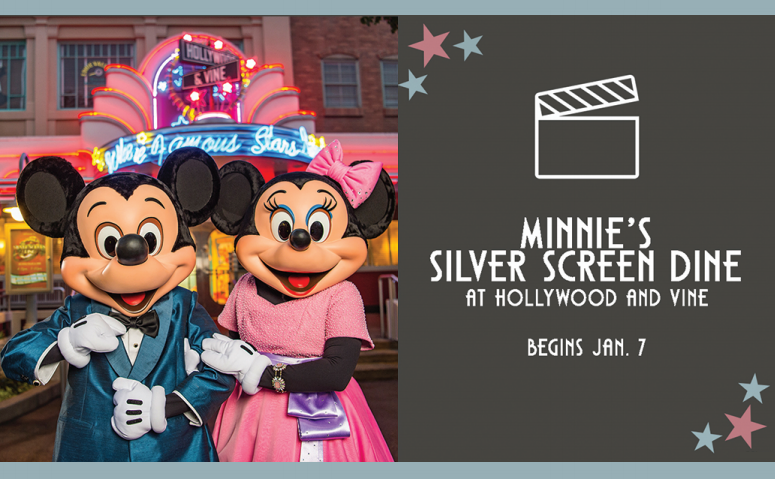 Minnie's Silver Screen Dine, Character Experience Dining Returns to Hollywood Studios