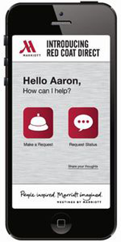 Marriott upgrades mobile app