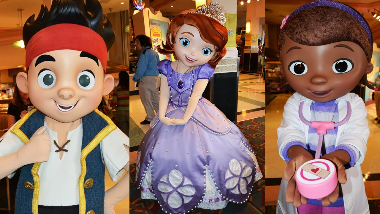 Hollywood & Vine Restaurant to Host Character Lunch with Disney Junior Pals