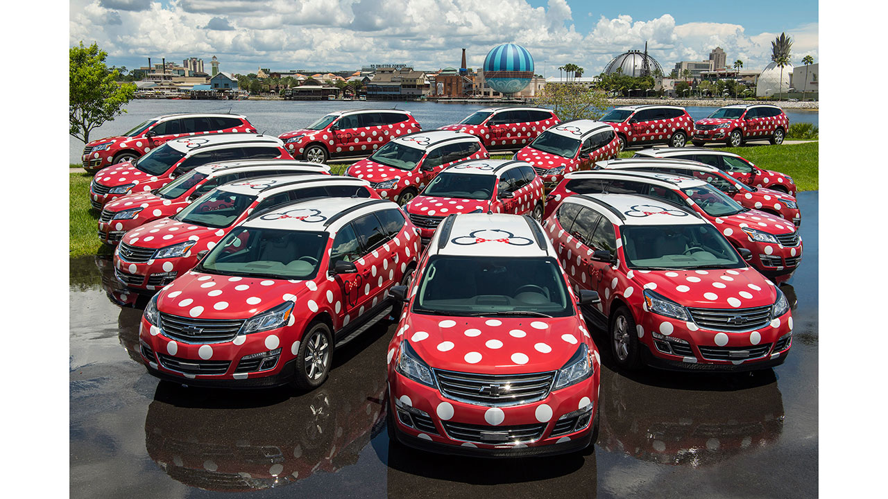 Minnie Van Shuttle Service Now Available Between Walt Disney World Resort Hotels and Orlando International Airport