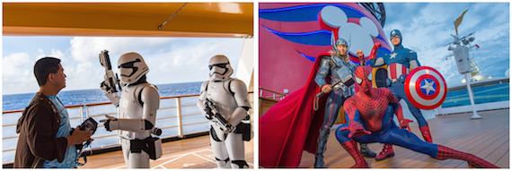 DISNEY CRUISE LINE TAKES YOUR CLIENTS ON EPIC ADVENTURES IN 2019 WITH THE RETURN OF STAR WARS DAY AT SEA AND MARVEL DAY AT SEA