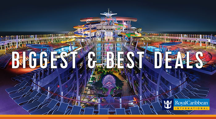 Royal Caribbean Cruises – Biggest Best Deals !