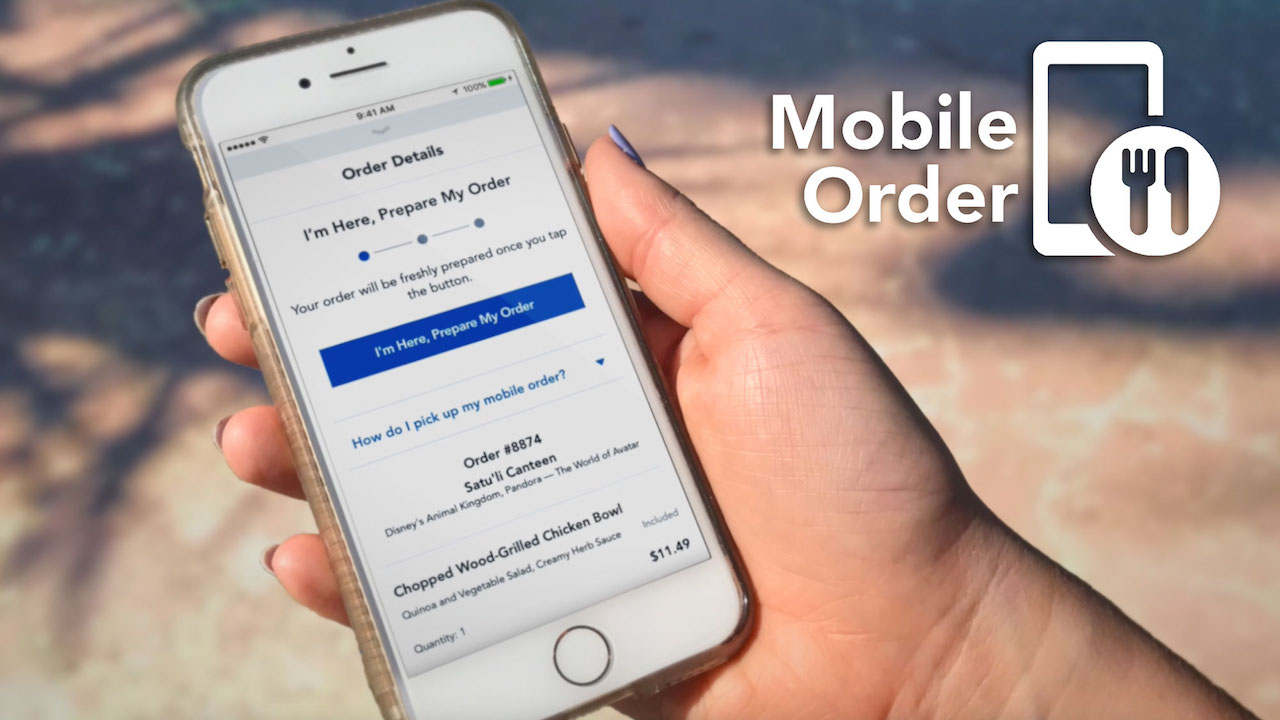 MOBILE ORDERING SERVICE COMING SOON TO DISNEYLAND RESORT