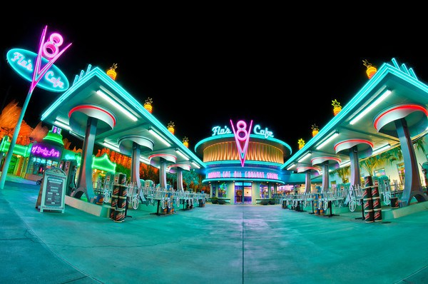 Flo's V8 Café at Disney California Adventure Park Introduced A New Menu On May 16, 2018