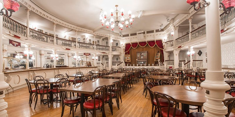 The Diamond Horseshoe Rustles Up A New Menu
