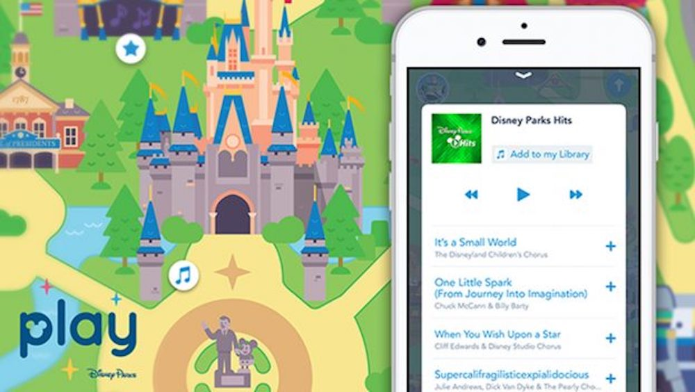 Celebrate the Songs of Disney with Play Disney Parks App