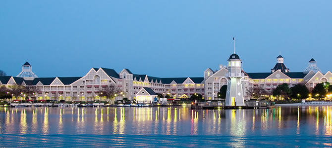 Take A Look at Disney's Yacht Club Resort!