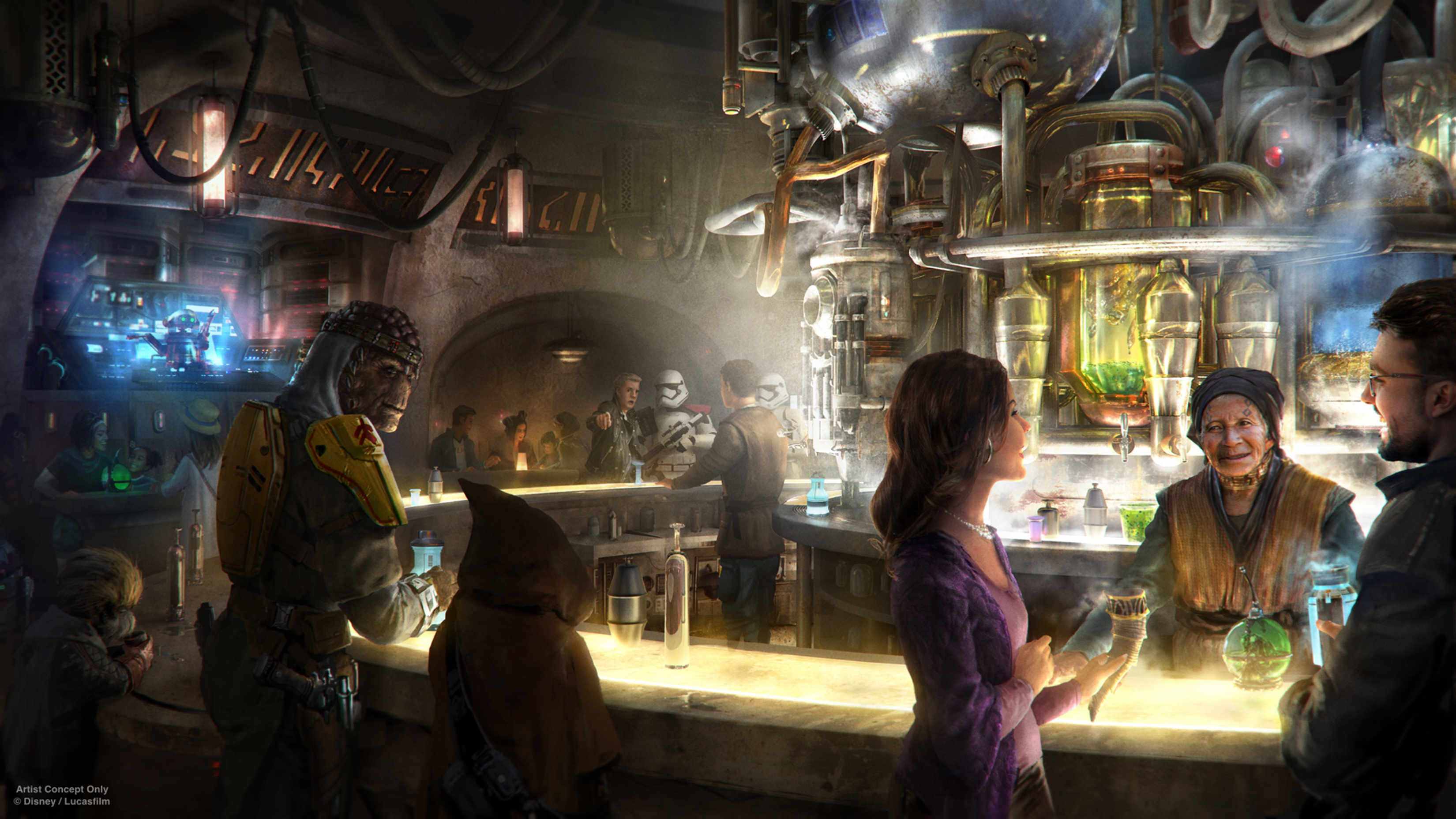Star Wars: Galaxy's Edge Opening Dates Announced at Disney Share Holders Meeting
