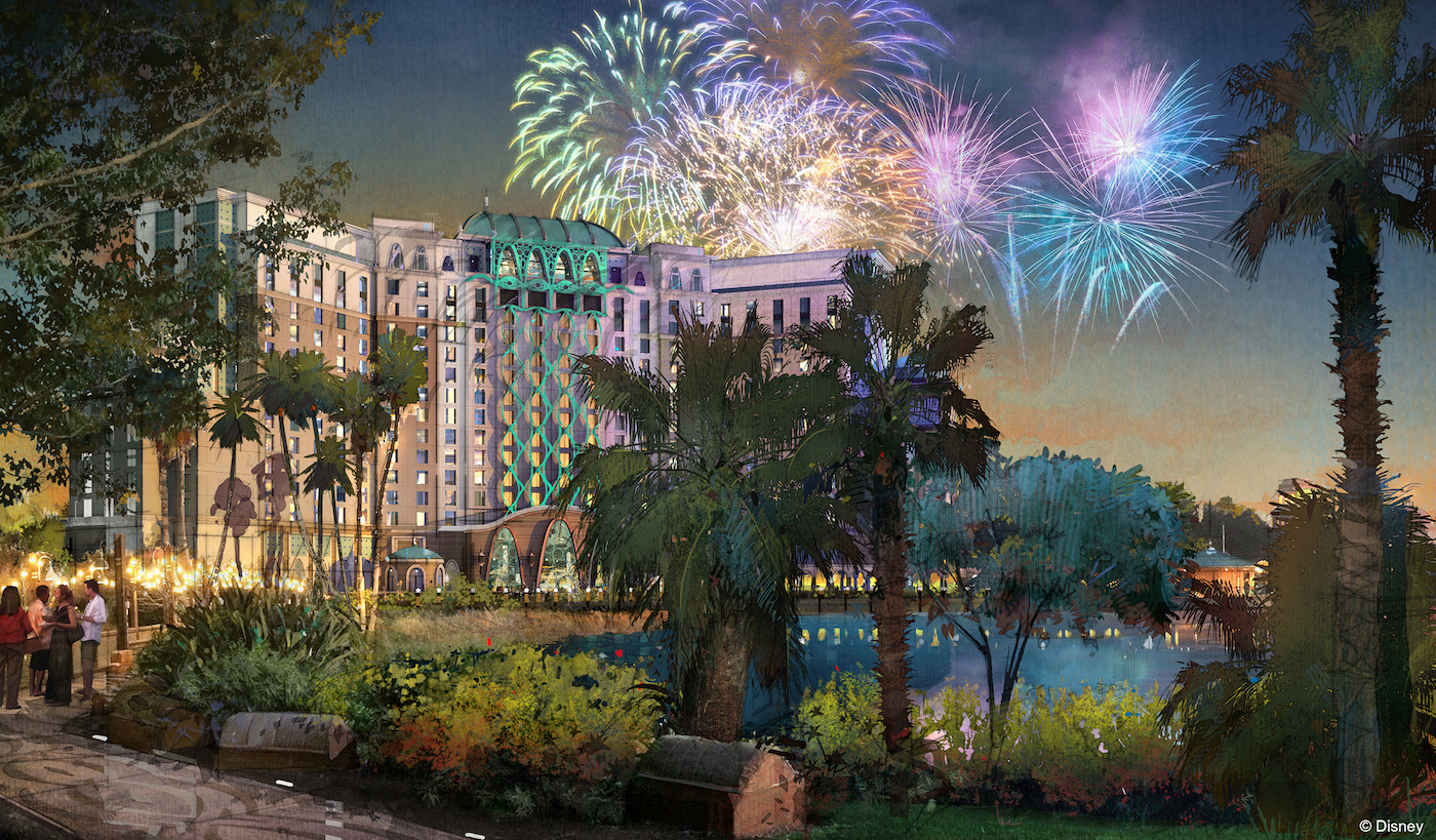 Additional Details (and a name) Unveiled On Gran Destino Tower at Disney's Coronado Springs Resort, Set to Open July 2019