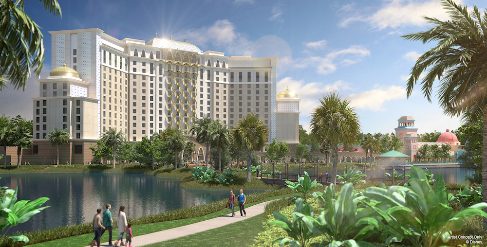 Reservations Now Being Taken For The Gran Destino Tower at Disney's Coronado Springs Resort