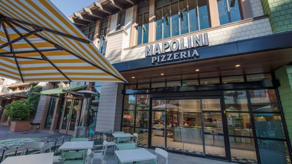Napolini is Now Open! Build-Your-Own Pizza in Downtown Disney District at the Disneyland Resort