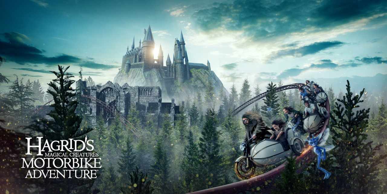 First-Ever Look at Creatures inside Hagrid's Magical Creatures Motorbike Adventure