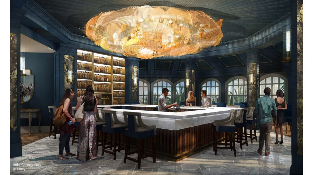 New Bar and Lounge Will Evoke 'Beauty and the Beast' at Disney's Grand Floridian Resort & Spa