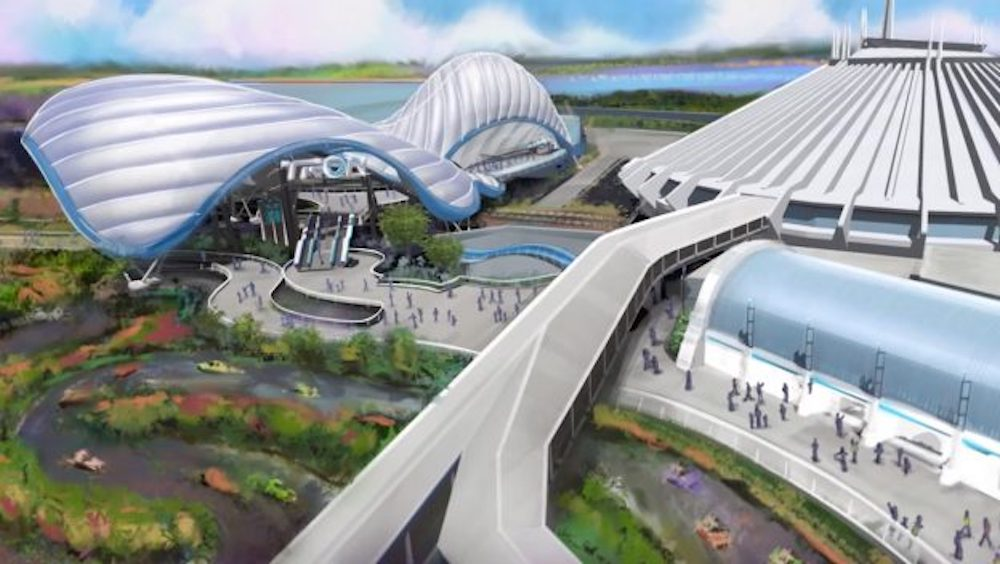 Exciting Progress is Being Made on the TRON Attraction Coming to Magic Kingdom Park