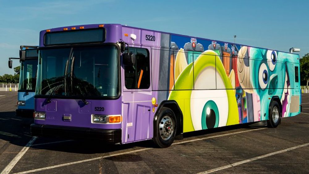 Buses Featuring Even More Characters Join Disney Transportation