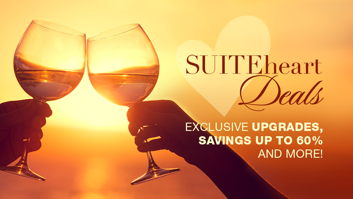 Exclusive SUITEheart Deals Through Destinations with Character Travel & Travel Impressions!