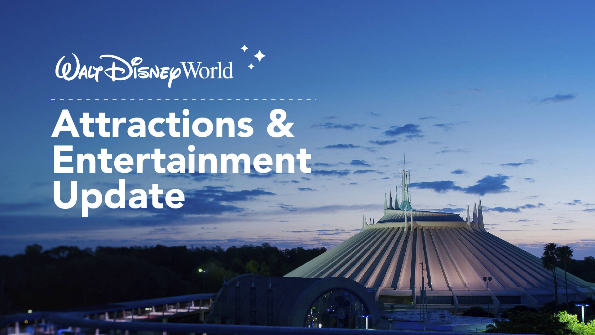 Attractions and Entertainment Details for Phased Reopening at the Walt Disney World Theme Parks