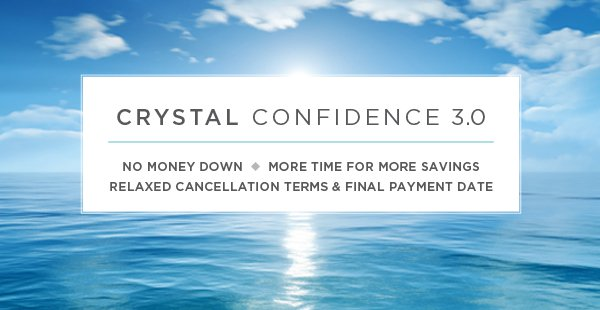 Crystal Cruises Extends Relaxed Booking Policies for All 2021 Itineraries