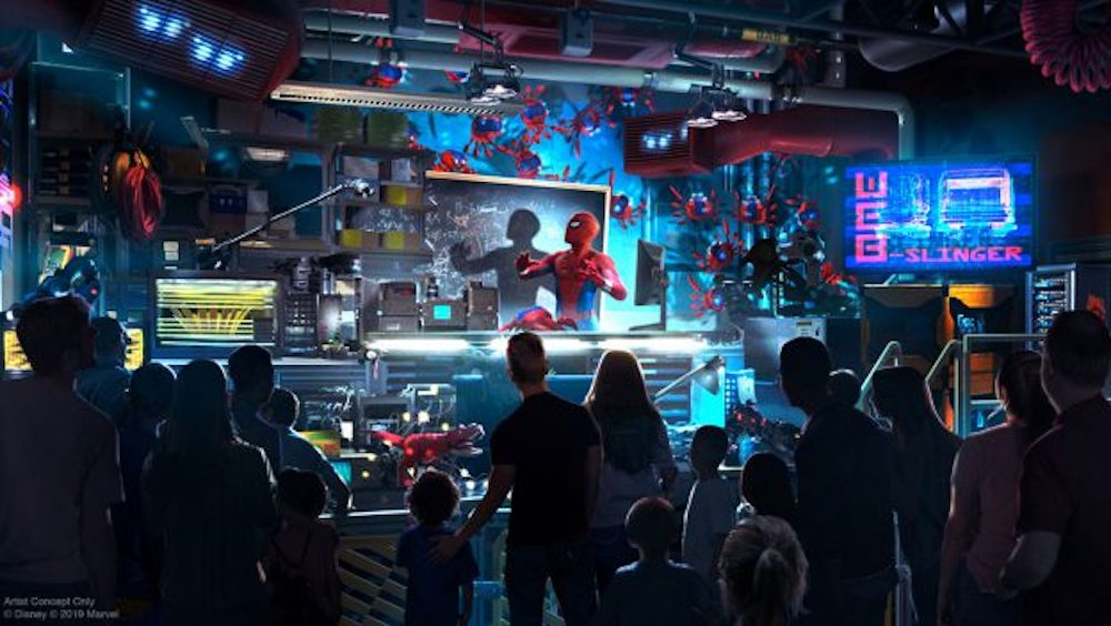 Here's Your First Look at Actor Tom Holland as Peter Parker in WEB SLINGERS: A Spider-Man Adventure Coming to Avengers Campus at Disneyland Resort