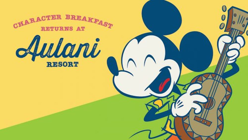 Disney's Aulani Resort's Character Breakfast Returning to Makahiki Restaurant on May 7