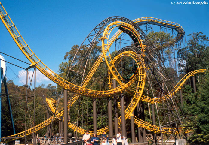 What Was Your First Time…On An Upside Down Roller Coaster?