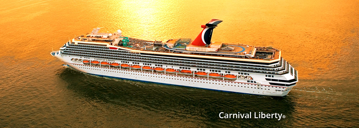 Carnival Cruise Line Announces Modified Itineraries for Carnival Liberty, Valor
